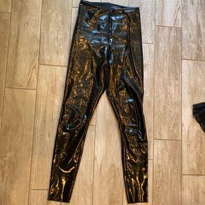 Commando leather leggings
